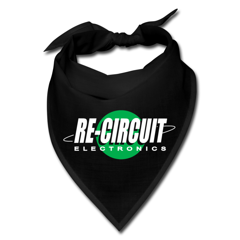 Re-Circuit Electronics Bandana - black
