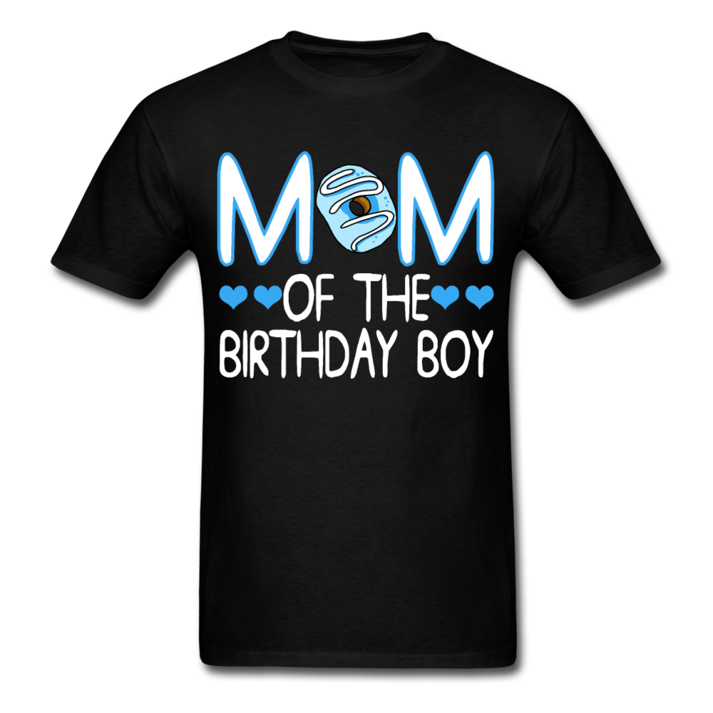 Mom of the Birthday Boy Unisex Classic T-Shirt - black
