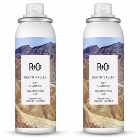 R+Co Death Valley Travel Size Dry Shampoo Lot of Two - 1.6 oz Each
