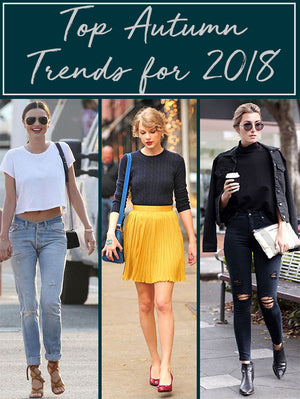 Top Autumn trends for 2018