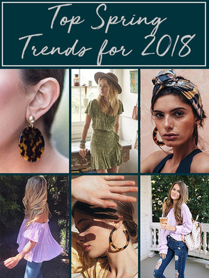 Top Spring trends for 2018