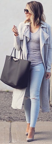 Tonal layering | Winter fashion trends 2017 | Stylist top picks