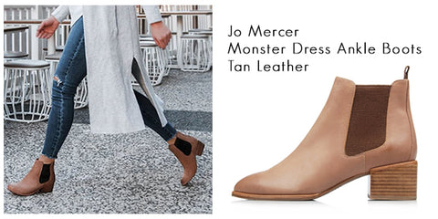 Jo Mercer ankle boots | Personalised Style