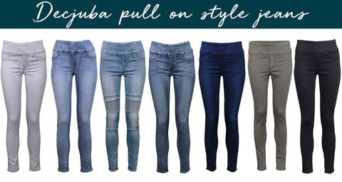 Pull on style jeans from decjuba | Personalised Style