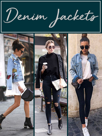 Personal Styling Sydney, Melbourne | Autumn trends for Australia 2018 | Denim Jackets