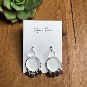 Drop earrings - Silver Gypsy | Tiger Tree