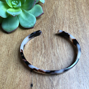 Tortoise Shell Cuff Bangle | Tiger Tree