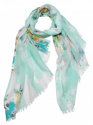 Mint Blossom Scarf