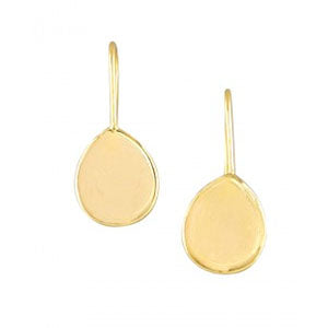 Gold plate tear drop earrings | Small | Tiger Tree | AfterPay