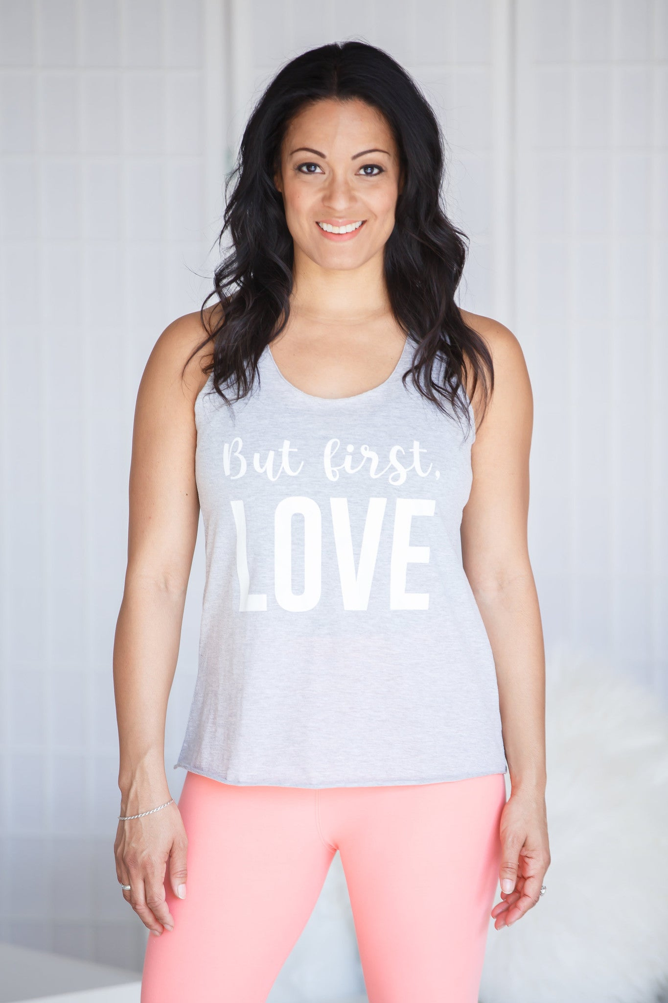 But First Love Tank Top