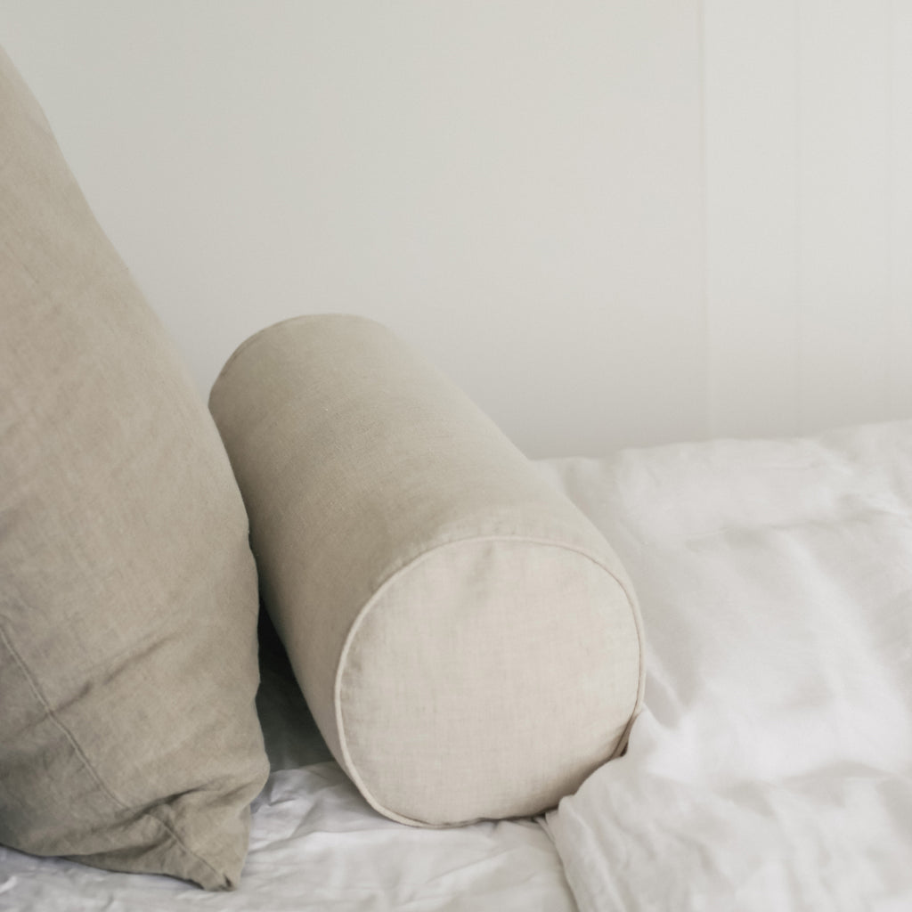 Oatmeal-linen-bolster-cushion-homeware