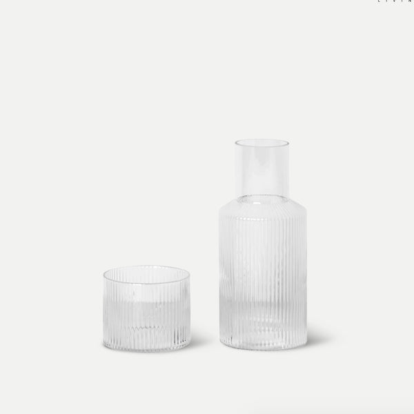 homeware-ripple-glass-carafe-ferm
