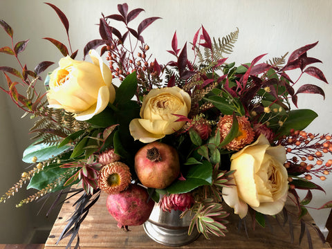 Thanksgiving centerpiece - by Fortunate Orchard