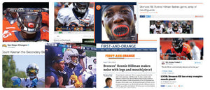 LOUDMOUTHGUARDS featured on denverbroncos.com