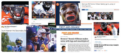 LOUDMOUTHGUARDS PRESS COLLAGE