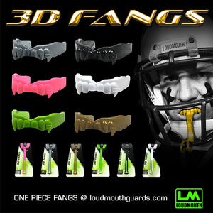 3D-FANGS-LOUDMOUTH-LOUD MOUTH GUARDS