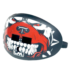 Bull Dog Red Lip Protector Football Mouthpiece