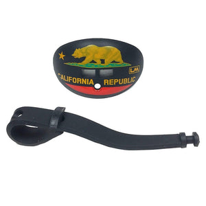 Flags - California - Black - Mouth Guard - Mouth Guard - Loud Mouth - LOUDMOUTH
