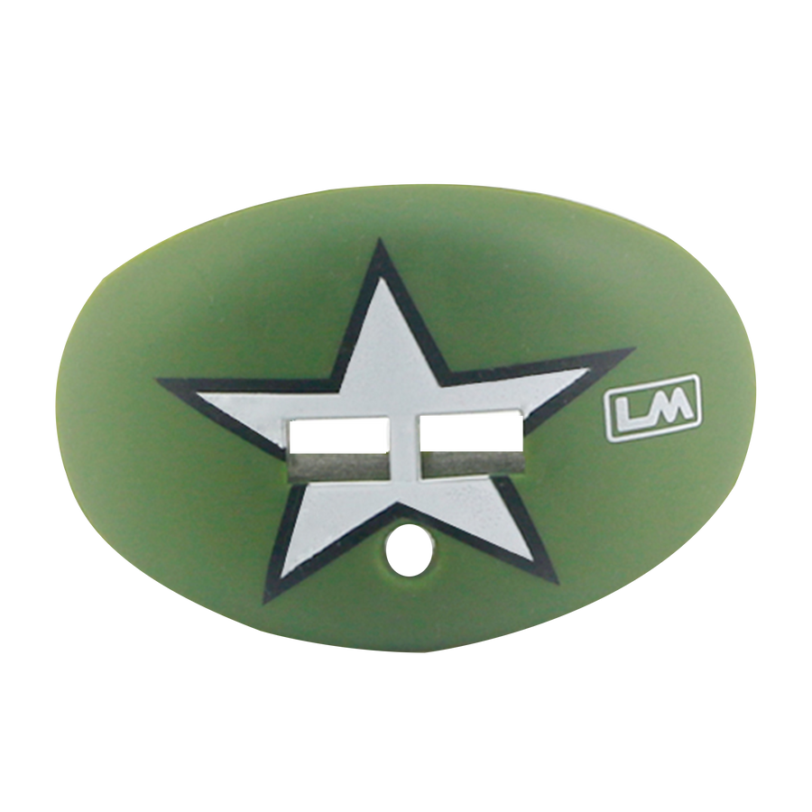 Military - Army - Green Moss - White Star-850867006772-6772