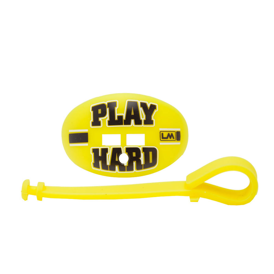 LOUDMOUTHGUARDS PLAY HARD Duck Fluorescent Yellow 850867006512