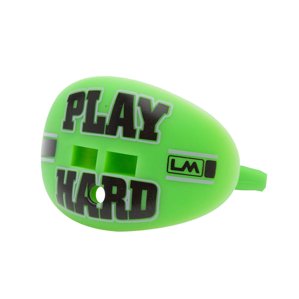 LOUDMOUTHGUARDS PLAY HARD Hawk Fluorescent Green 850867006475