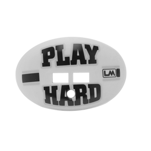 LOUDMOUTHGUARD PLAY HARD RAIDER GREY WITH STRAP 850867006499