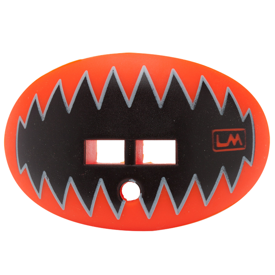 LOUDMOUTHGUARDS SHARK TEETH Bengal Orange 850867006154