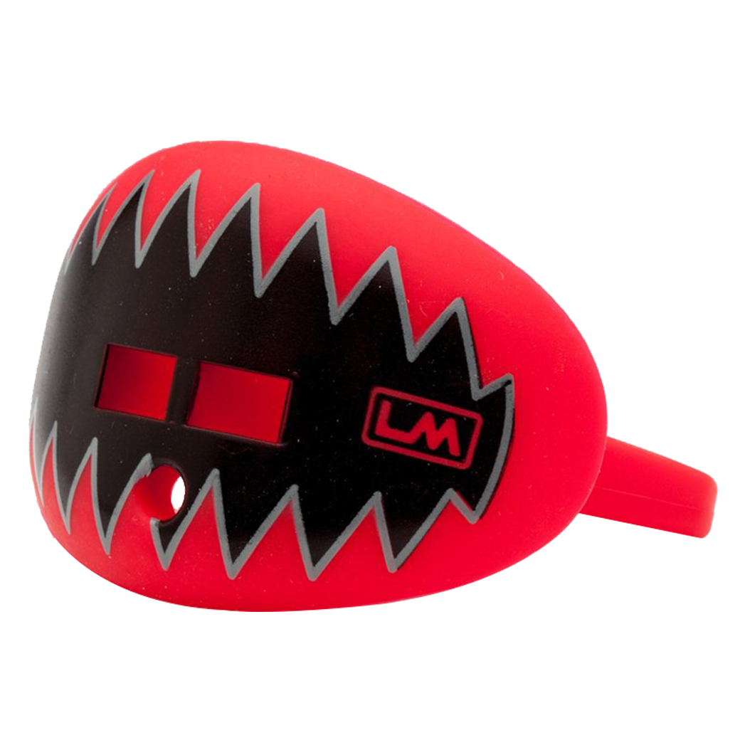 LOUDMOUTHGUARDS SHARK TEETH Falcon Red 850867006123