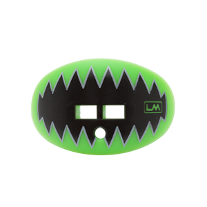 LOUDMOUTHGUARDS SHARK TEETH Hawk Fluorescent Green 850867006147