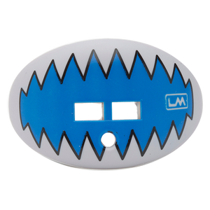 LOUDMOUTHGUARDS SHARK TEETH Lion Royal Blue + Grey 850867006185