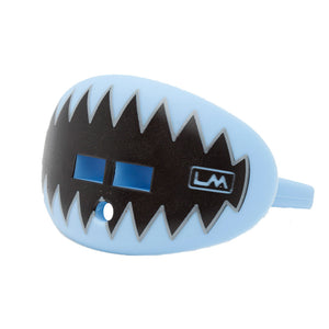 LOUDMOUTHGUARDS SHARK TEETH Carolina Light Blue 850867006178