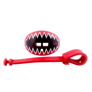 Shark Teeth Cardinal Red Loud Mouth Guards 850867006680