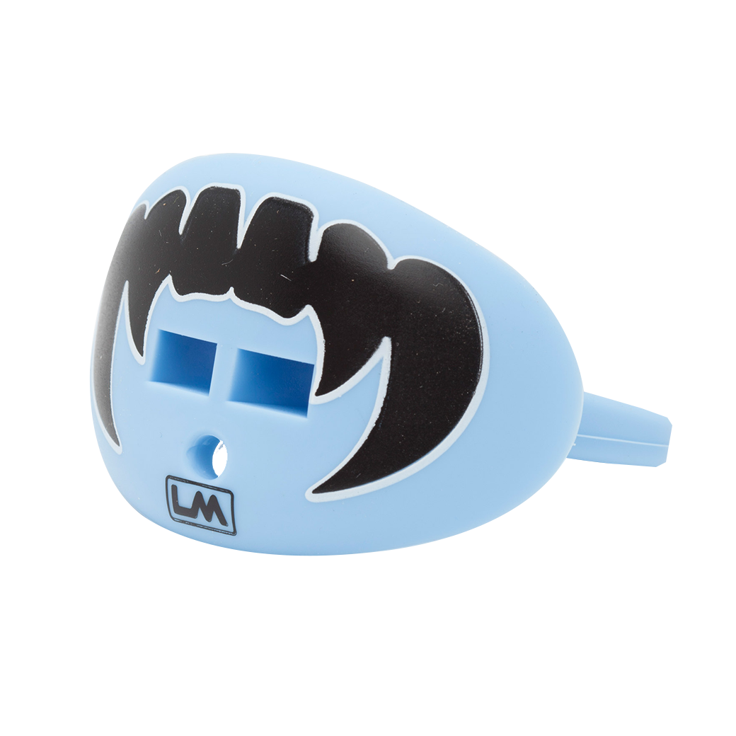 LOUDMOUTHGUARDS VAMPIRE FANGS Carolina Light Blue 850867006284