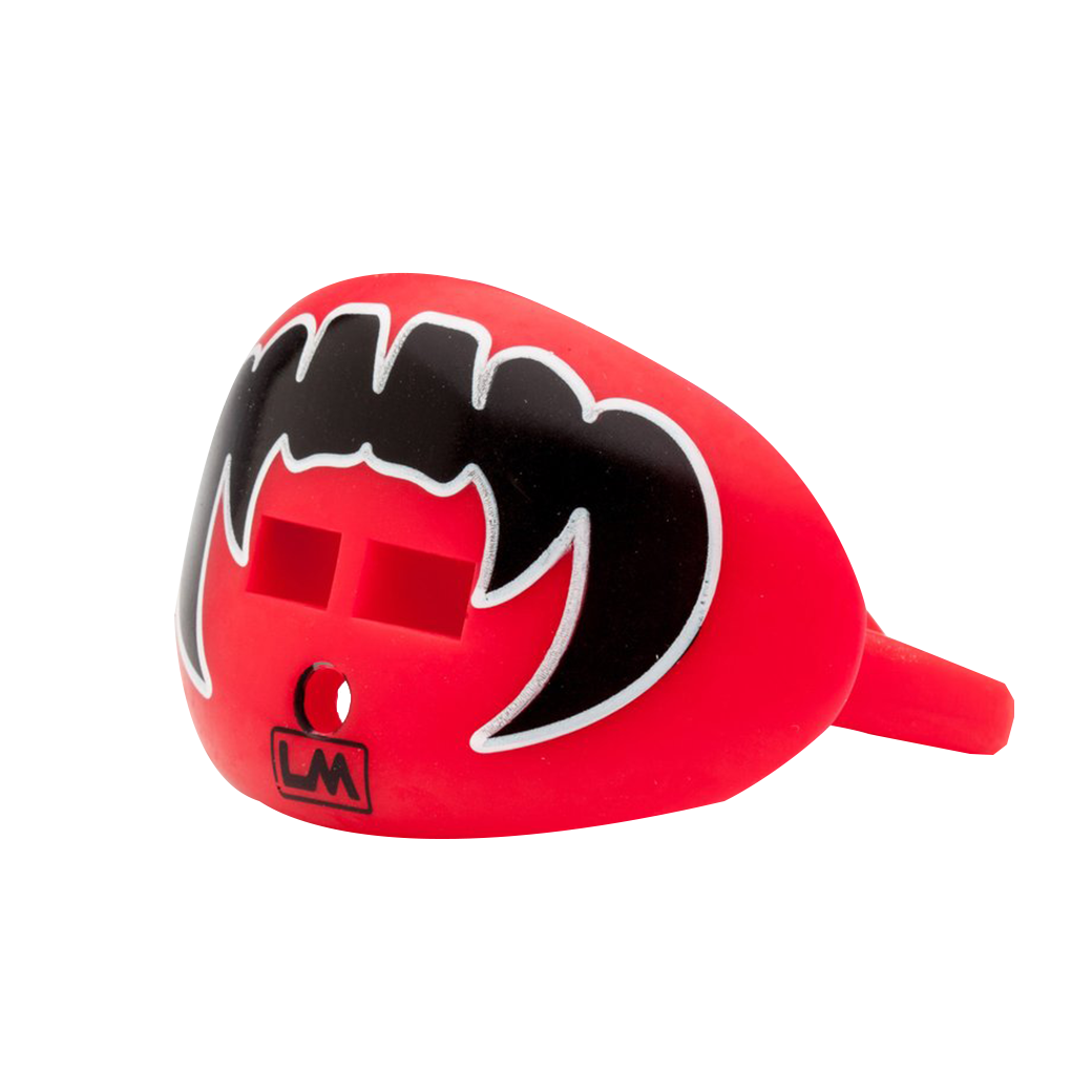 LOUDMOUTHGUARDS VAMPIRE FANGS Falcon Red + Black 850867006222