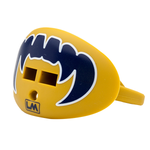 LOUDMOUTHGUARDS VAMPIRE FANGS Irish Gold + Navy 850867006208