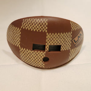 Brown Checkers Mouthguard