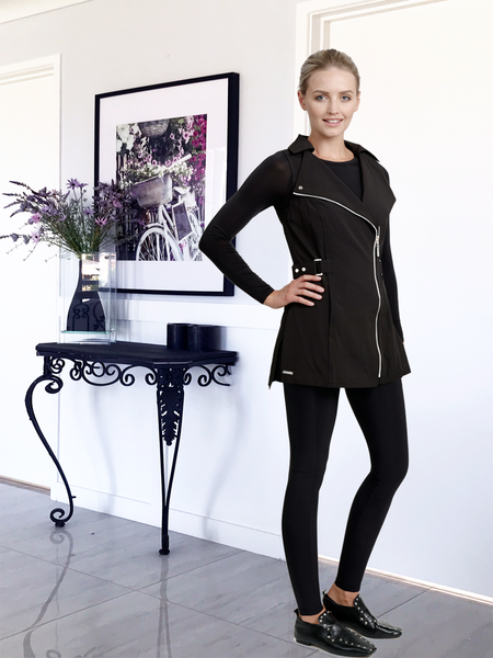 MANHATTAN TUNIC BLACK