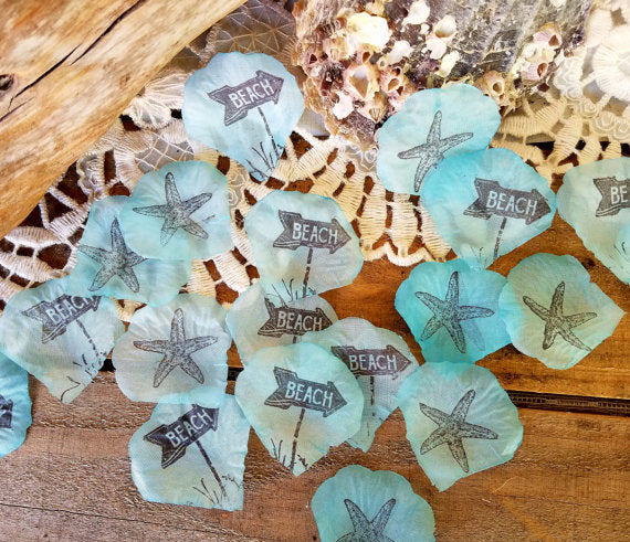 Beach Party and Beach  Wedding Confetti
