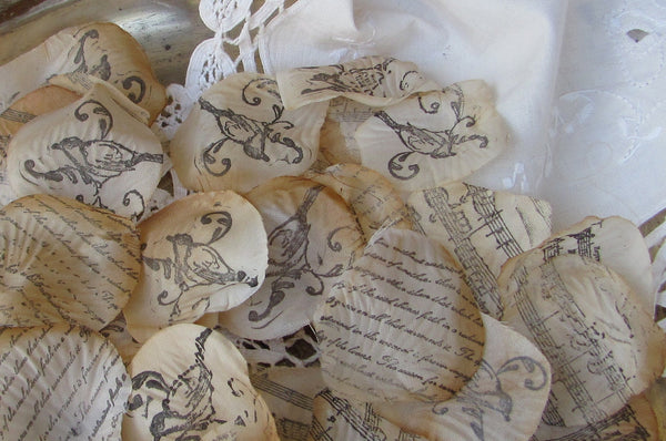 Wedding petals for isle decorations,Flower girl petals, table scatter