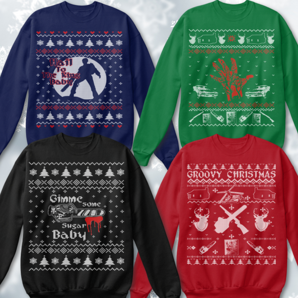 Groovy Christmas Sweaters