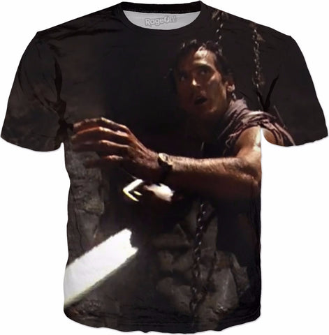 Army of Darkness The Pit All Over Tee