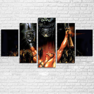 Army of Darkness 5 Piece Canvas