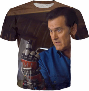 Ash vs Evil Dead Finger All Over Tee