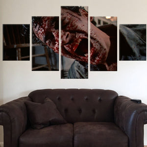 Canvas - Limited Edition Who's Laughing 5 Piece Canvas