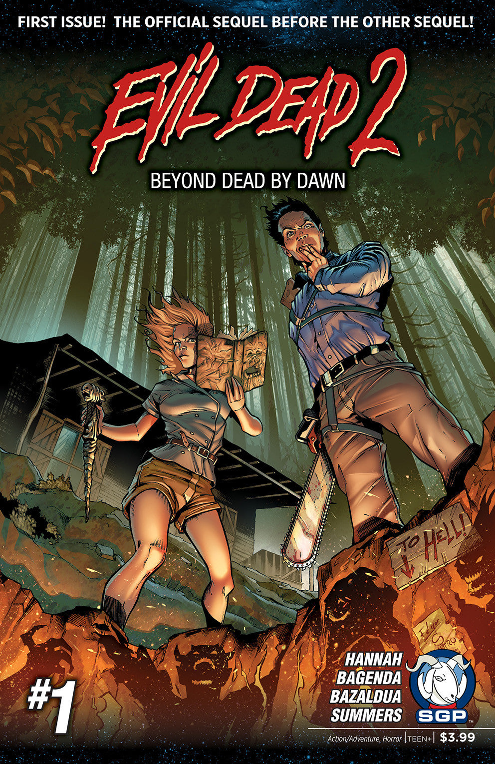 Comic Book - Evil Dead 2: Beyond Dead By Dawn #1