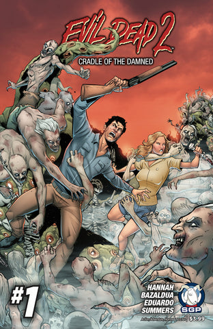 Comic Book - Evil Dead 2: Cradle Of The Damned #1
