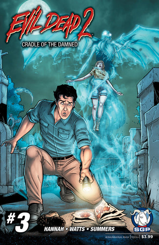Comic Book - Evil Dead 2: Cradle Of The Damned #3