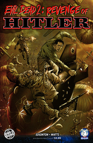Comic Book - Evil Dead 2: Revenge Of Hitler #1