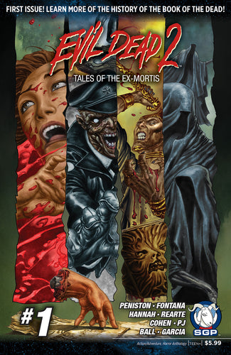 Comic Book - Evil Dead 2: Tales Of The Ex-Mortis #1