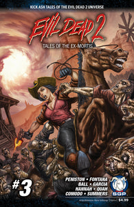 Comic Book - Evil Dead 2: Tales Of The Ex-Mortis #3